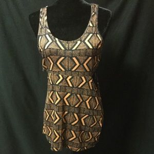 Abstract Tank With Cut Outs